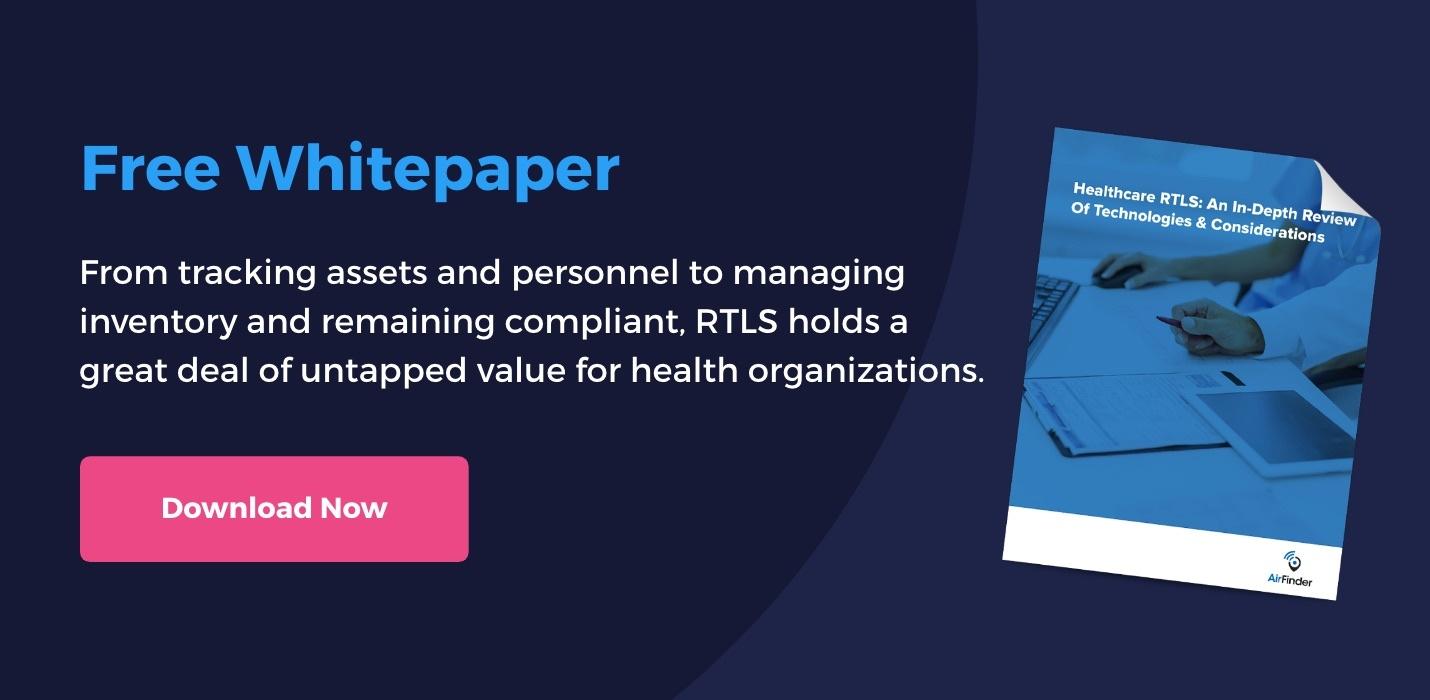 AF CTA_ Healthcare RTLS Whitepaper