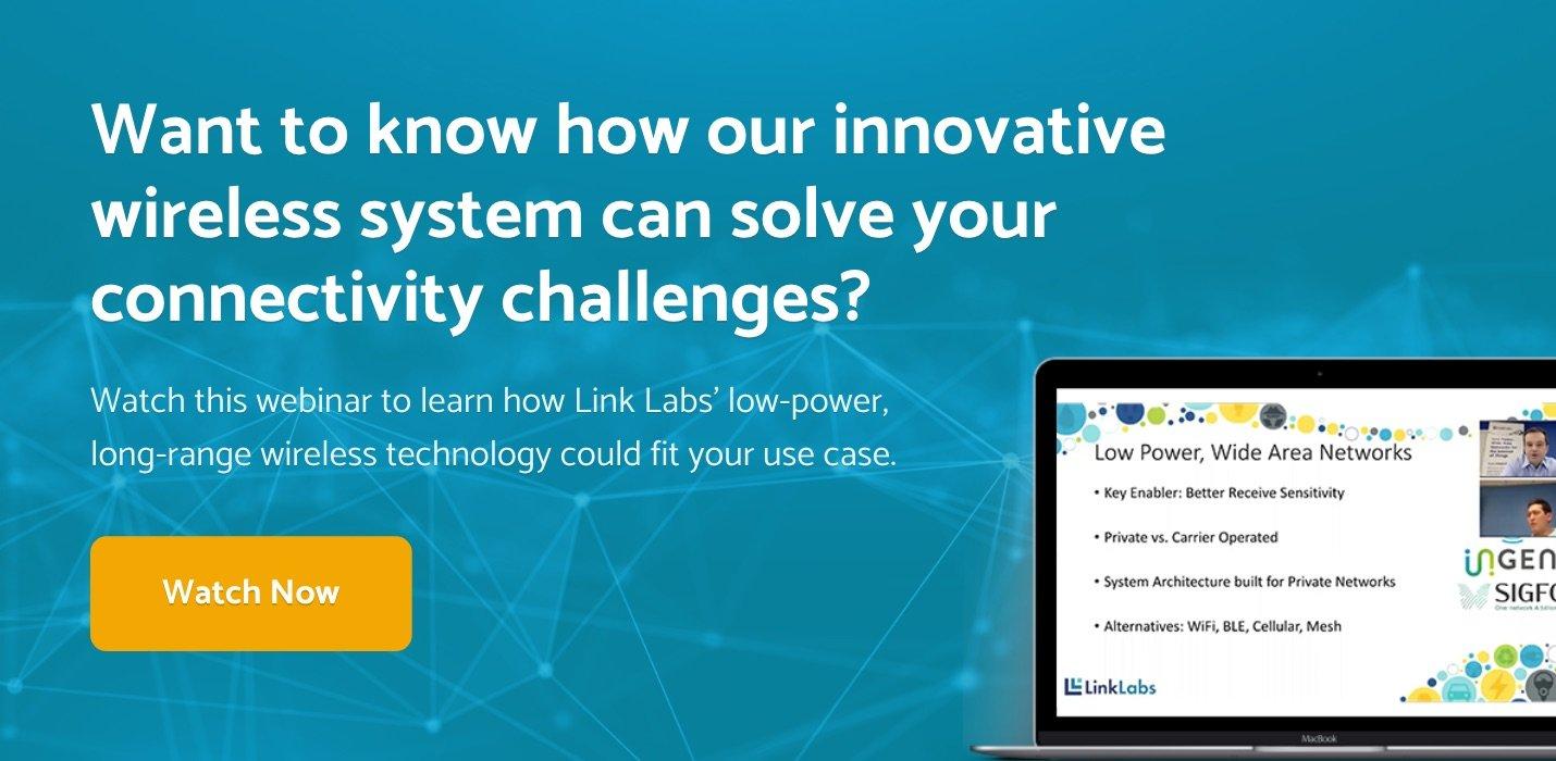 LL CTA_ Low Power Wide Area Networks Webinar