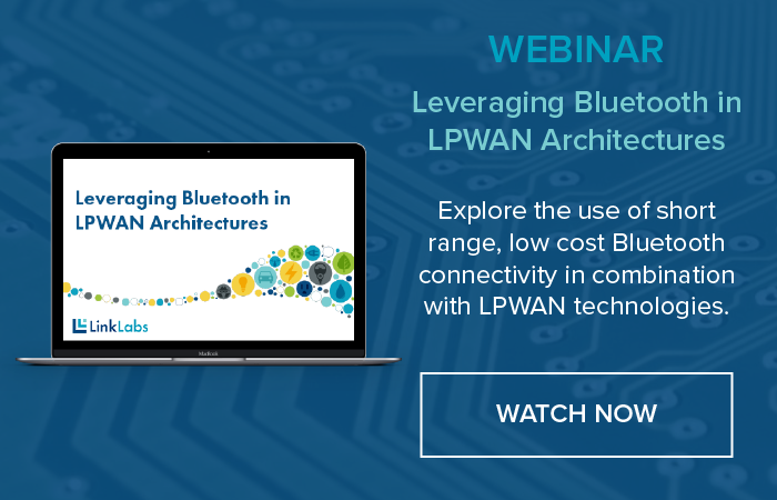 Leveraging Bluetooth in LPWAN Architectures