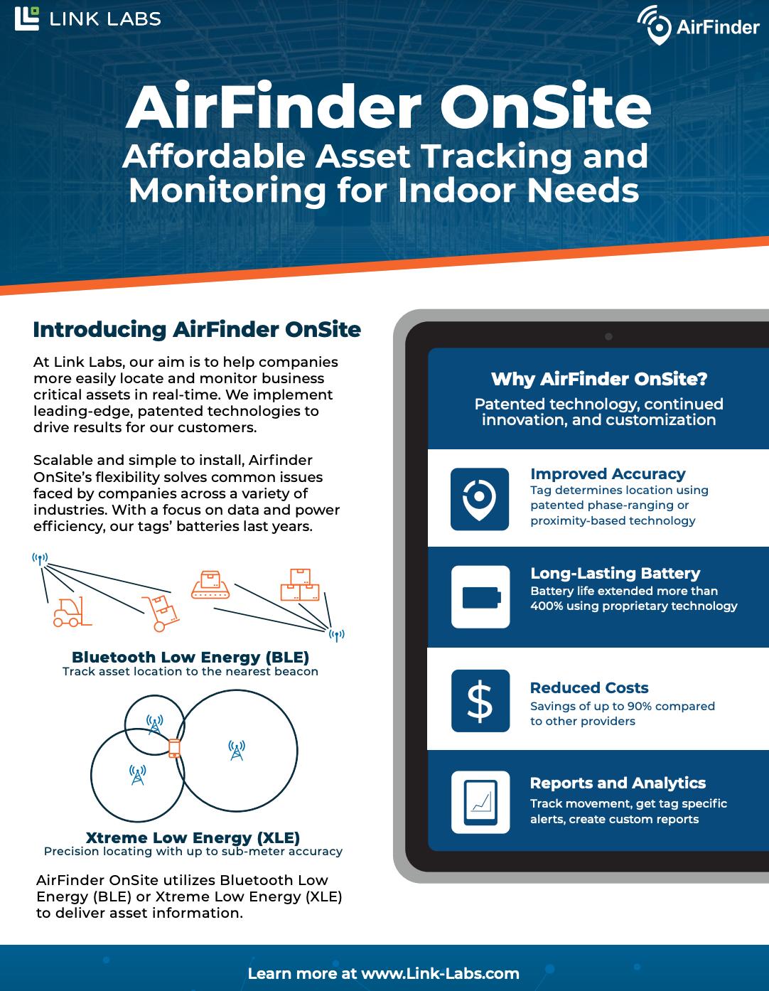 AirFinder-OnSite-ProductBrief